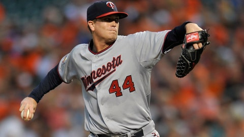 Twins at Orioles: 8/29/14-9/1/14