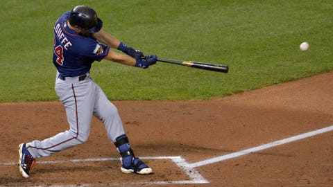 Trevor Plouffe has made positive strides this season, both at the plate and at third base