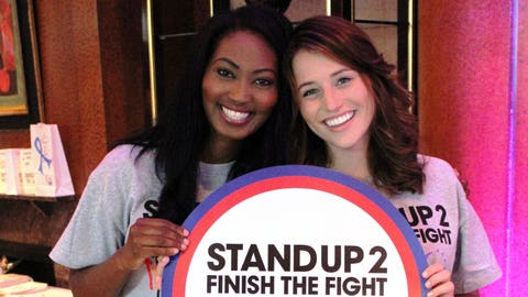 FOX Sports Supports Stand Up To Cancer. Bishara and Sage stand up for Wisconsin sports fans in their fight against cancer. Who do you stand up for?