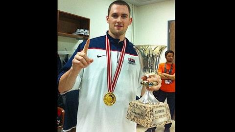 Kevin Love, former Timberwolves power forward