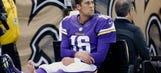 Injured Cassel expects to be walking again in two weeks