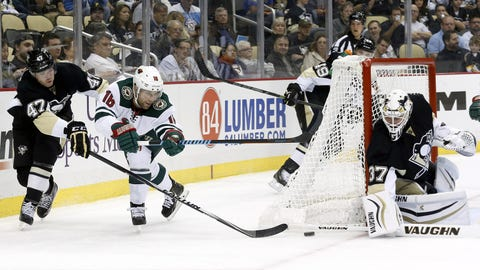 Wild at Penguins: 9/25/14