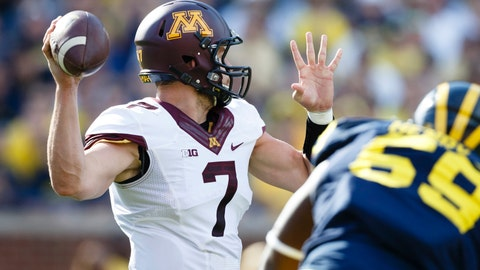Gophers at Wolverines: 9/27/14
