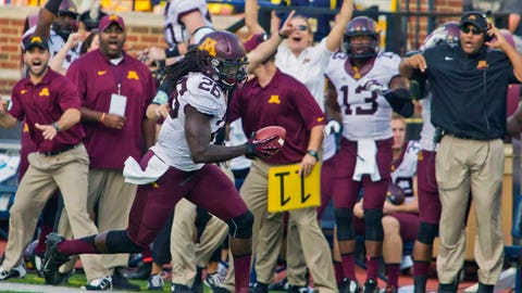 Gophers earn a rare win in Ann Arbor