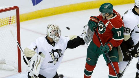 Penguins at Wild (preseason): 9/29/14
