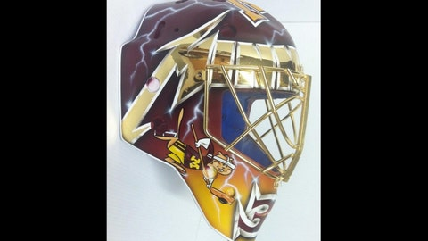 Ryan Coyne, Gophers goalie