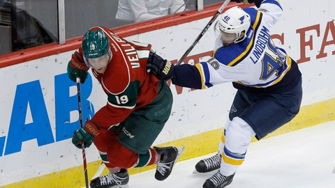 Blues at Wild: 10/4/14