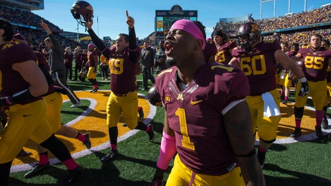 Boilermakers at Gophers: 10/18/14