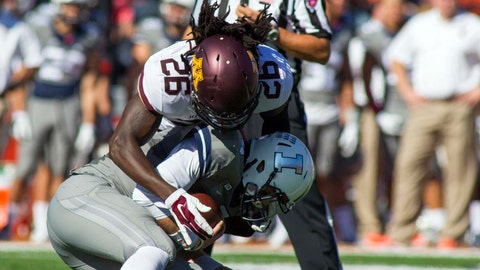 Gophers at Fighting Illini: 10/25/14