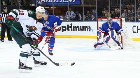Wild at Rangers: 10/27/14