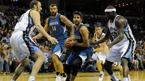 Wolves at Grizzlies: 10/29/14