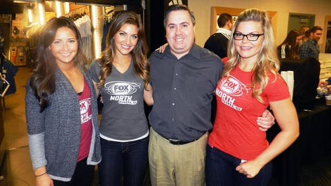 Angie, Jennifer, Kendall and this Wolves fan can't wait to see what the team has in store for us this season.