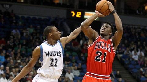 Bulls at Wolves: 11/1/14