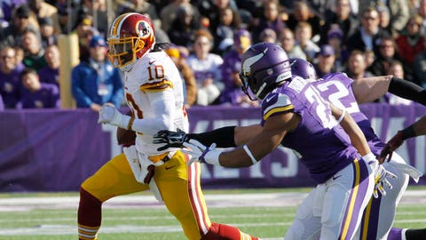 Redskins at Vikings: 11/2/14