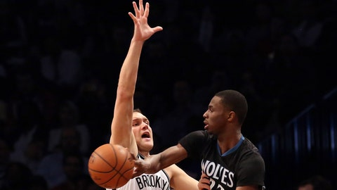 Wolves at Nets: 11/5/14