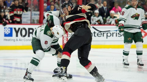 Minnesota Wild at Ottawa Senators: 11/6/14