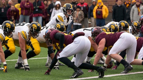 Hawkeyes at Gophers: 11/8/14