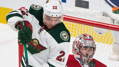 Wild at Canadiens: 11/8/14