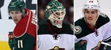 Parise, Harding and Spurgeon practice but unavailable Tuesday