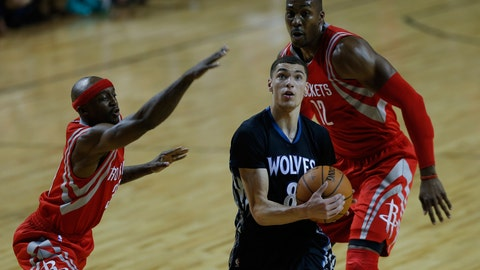 Wolves vs. Rockets in Mexico: 11/12/14