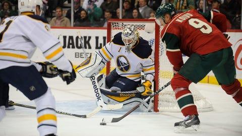 Buffalo Sabres at Minnesota Wild: 11/13/14