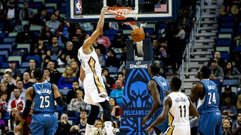 Wolves at Pelicans: 11/14/14