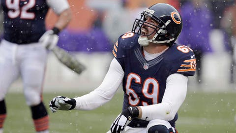 Chicago defensive end Jared Allen