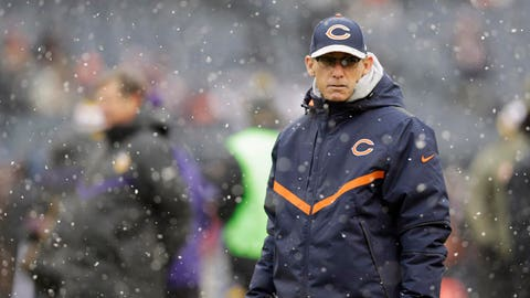Marc Trestman is their coach, and they'll have to accept it