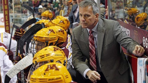Don Lucia, Gophers hockey coach