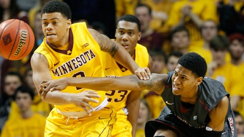 Franklin Pierce at Minnesota Gophers