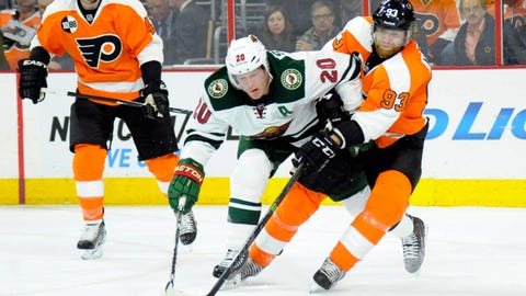 Minnesota Wild at Philadelphia Flyers