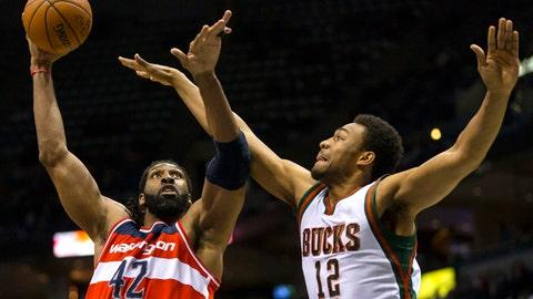 Wizards at Bucks: 11/22/14