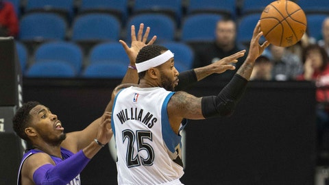 Kings at Timberwolves: 11/22/14