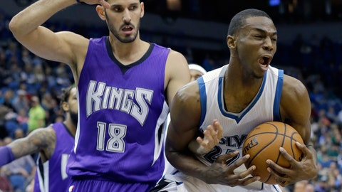 Kings at Timberwolves: 11/22/14
