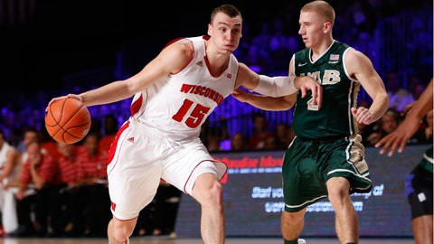 Badgers vs. Blazers: 11/26/14