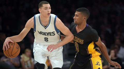 Timberwolves at Lakers: 11/28/14