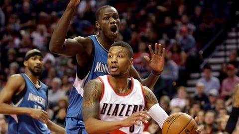 Timberwolves at Trail Blazers: 11/30/14