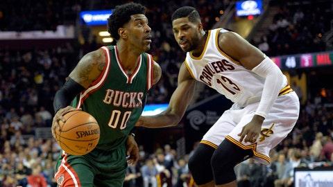 Bucks at Cavaliers: 12/2/14