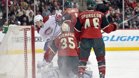 Canadiens at Wild: 12/3/14