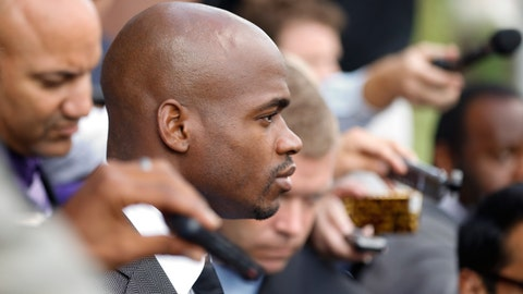 No more Adrian Peterson distractions (hopefully)