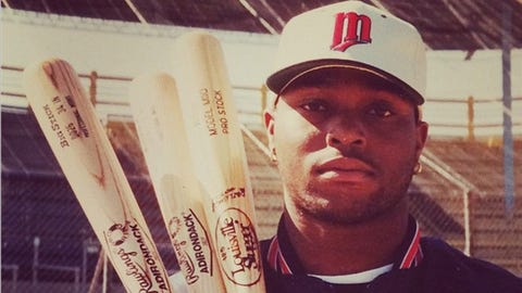 Torii Hunter, Twins outfielder