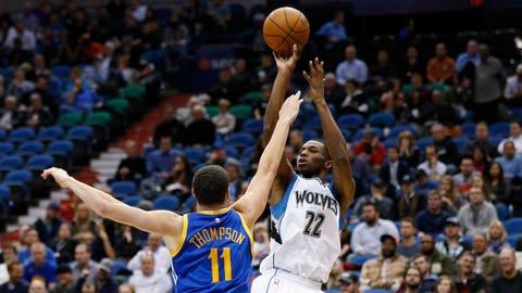 Warriors at Timberwolves: 12/8/14