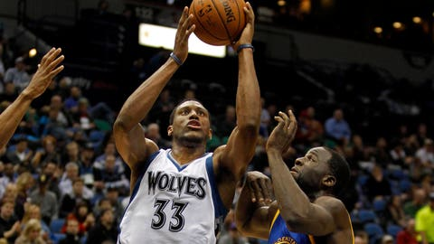 Warriors at Timberwolves: 12/8/14
