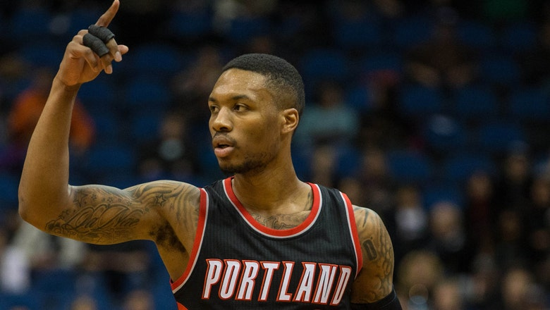 Coach challenges Lillard to sneaker wager over college hoops game