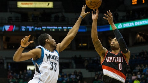 Blazers at Wolves: 12/10/14