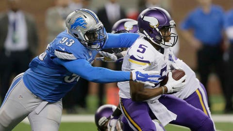 Vikings at Lions: 12/14/14