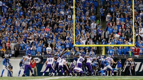 Vikings at Lions: 12/14/14