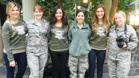 Military members and their families were invited to the Mall of America to enjoy a free morning of rides, food, character visits and more.