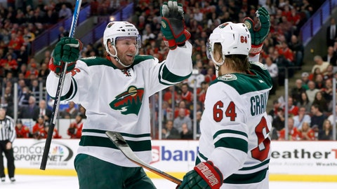 Wild at Blackhawks: 12/16/14