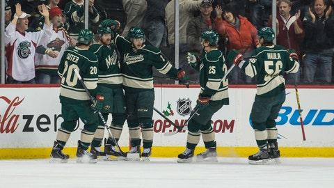 Bruins at Wild: 12/17/14